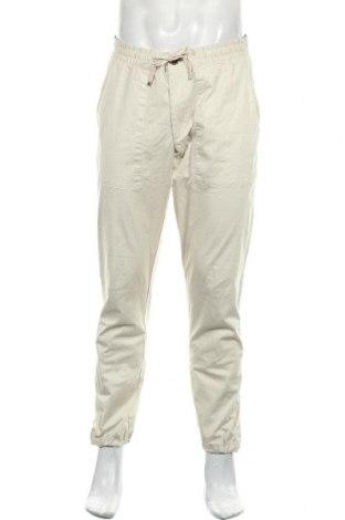 Мъжки панталон Anerkjendt, Размер M, Цвят Бежов, 97% памук, 3% еластан, Цена 30,02лв.