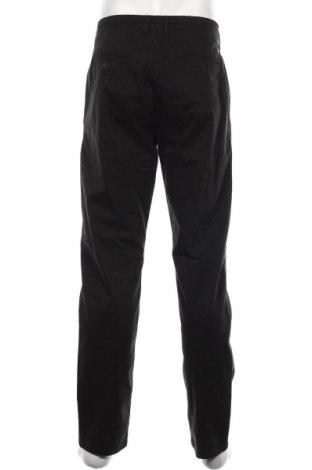 Мъжки панталон Casual Friday, Размер L, Цвят Черен, 97% памук, 3% еластан, Цена 43,50лв.