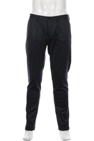 Мъжки панталон Devred 1902, Размер M, Цвят Син, 77% полиестер, 18% вискоза, 5% еластан, Цена 33,82лв.