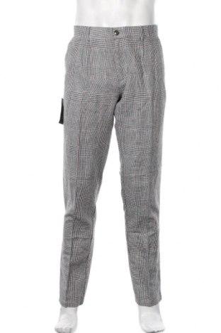 Pantaloni de bărbați Devred 1902, Mărime L, Culoare Multicolor, 53% bumbac, 47% in, Preț 161,02 Lei