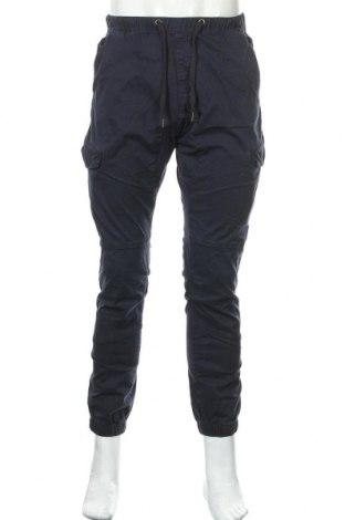 Pantaloni de bărbați Indicode, Mărime M, Culoare Albastru, 98% bumbac, 2% elastan, Preț 124,74 Lei