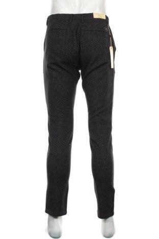 Мъжки панталон Selected Homme, Размер M, Цвят Черен, 98% памук, 2% еластан, Цена 32,70лв.