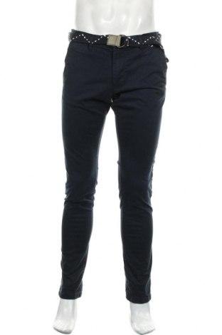 Мъжки панталон Teddy Smith, Размер L, Цвят Син, 98% памук, 2% еластан, Цена 31,05лв.