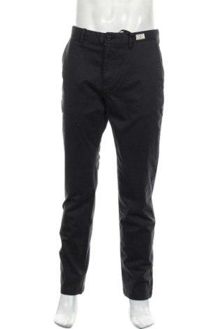 Pantaloni de bărbați Tommy Hilfiger, Mărime L, Culoare Albastru, 97% bumbac, 3% elastan, Preț 279,77 Lei