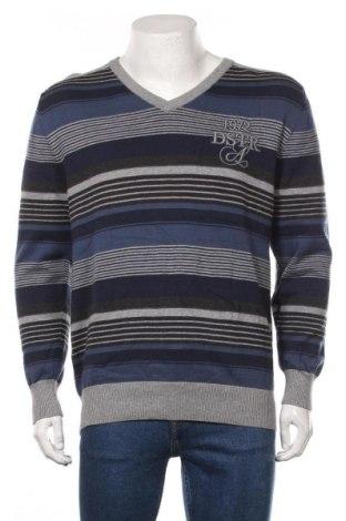 Мъжки пуловер Angelo Litrico, Размер XL, Цвят Син, Памук, Цена 29,40лв.