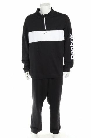 Мъжки спортен комплект Reebok, Размер XXL, Цвят Черен, 80% памук, 20% полиестер, Цена 97,30лв.
