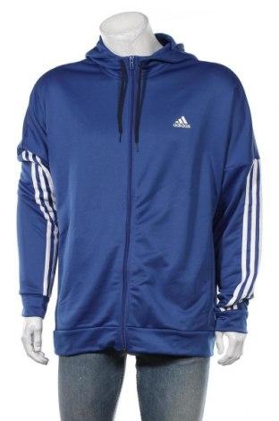 Мъжки суичър Adidas, Размер XXL, Цвят Син, Полиестер, Цена 74,25лв.