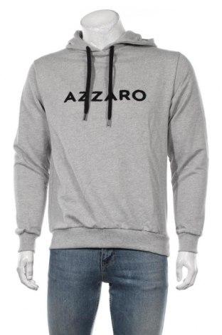 Мъжки суичър Azzaro, Размер M, Цвят Сив, Памук, Цена 94,50лв.