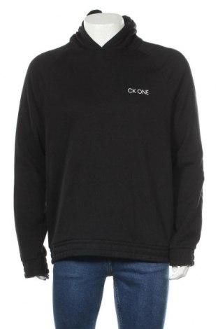 Hanorac de bărbați Calvin Klein, Mărime L, Culoare Negru, 60% bumbac, 40% poliester, Preț 197,20 Lei