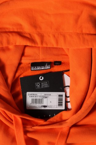 Мъжки суичър Napapijri, Размер L, Цвят Оранжев, 100% памук, Цена 103,09лв.