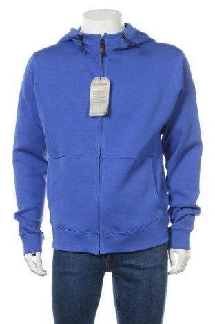 Мъжки суичър Napapijri, Размер L, Цвят Син, 80% памук, 14% полиестер, 6% еластан, Цена 88,96лв.