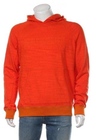 Мъжки суичър Napapijri, Размер L, Цвят Оранжев, Памук, Цена 92,95лв.