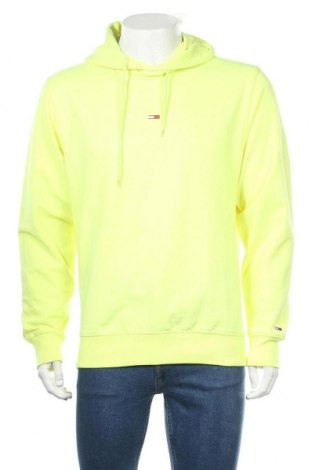 Мъжки суичър Tommy Hilfiger, Размер M, Цвят Жълт, 58% памук, 39% полиестер, 3% еластан, Цена 94,17лв.