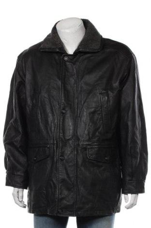 Мъжко кожено яке Canda, Размер XL, Цвят Черен, Естествена кожа, Цена 21,11лв.