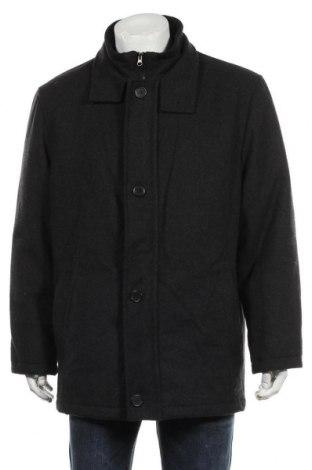 Мъжко палто A.W.Dunmore, Размер XL, Цвят Сив, 60% вълна, 40% полиестер, Цена 27,93лв.