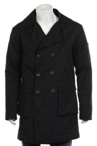 Мъжко палто Anerkjendt, Размер L, Цвят Черен, Цена 23,89лв.