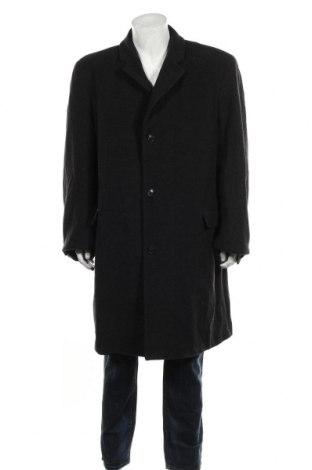 Мъжко палто Angelo Litrico, Размер XXL, Цвят Сив, 80% вълна, 20% полиестер, Цена 66,36лв.