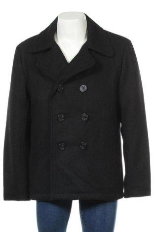 Мъжко палто Brandit, Размер XXL, Цвят Черен, 70% вълна, 30% вискоза, Цена 55,13лв.
