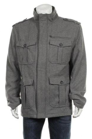 Мъжко палто Connor, Размер XL, Цвят Сив, 80% полиестер, 20% вълна, Цена 18,90лв.