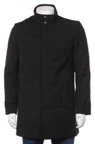 Мъжко палто Devred 1902, Размер M, Цвят Черен, 99% полиестер, 1% еластан, Цена 121,05лв.