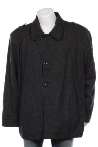 Мъжко палто Michael Kors, Размер 3XL, Цвят Сив, 55% вълна, 35% полиестер, 10% други тъкани, Цена 131,67лв.
