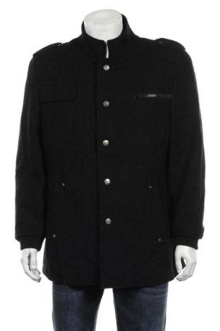 Мъжко палто Royal Spencer, Размер XL, Цвят Черен, 60% вълна, 40% полиестер, Цена 23,15лв.