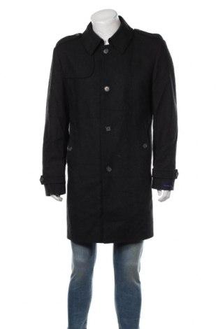 Ανδρικά παλτό Tommy Hilfiger, Μέγεθος L, Χρώμα Γκρί, 70% μαλλί, 30% πολυαμίδη, Τιμή 48,39€