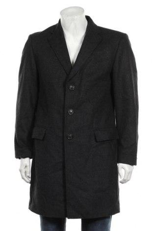 Мъжко палто Tommy Hilfiger, Размер L, Цвят Черен, 70% вълна, 30% полиамид, Цена 55,86лв.