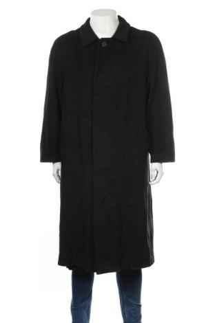 Мъжко палто Van Graaf, Размер L, Цвят Черен, 85% кашмир, 15% полиамид, Цена 25,20лв.