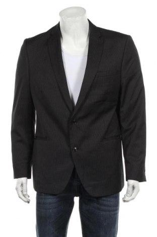 Мъжко сако Angelo Litrico, Размер L, Цвят Черен, 77% полиестер, 23% вискоза, Цена 20,48лв.