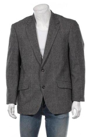Мъжко сако Canda, Размер L, Цвят Сив, 50% вълна, 50% полиестер, Цена 7,61лв.