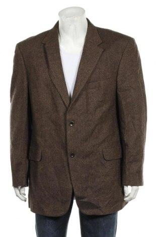 Мъжко сако Geoffrey Beene, Размер XL, Цвят Бежов, Вълна, Цена 6,92лв.