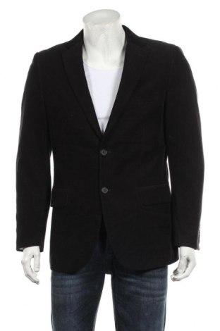 Мъжко сако H&M, Размер L, Цвят Черен, Памук, Цена 25,94лв.