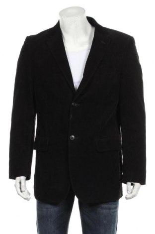 Мъжко сако H&M, Размер L, Цвят Черен, Памук, Цена 19,80лв.