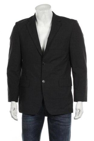 Мъжко сако Hugo Boss, Размер M, Цвят Сив, 96% вълна, 4% еластан, Цена 75,00лв.