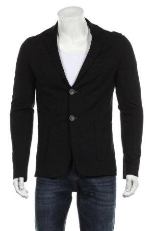 Мъжко сако Imperial, Размер M, Цвят Черен, 70% вискоза, 25% полиамид, 5% еластан, Цена 14,65лв.
