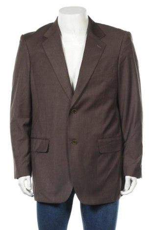 Мъжко сако Pierre Cardin, Размер L, Цвят Кафяв, 35% полиестер, 35% памук, 30% вискоза, Цена 31,92лв.