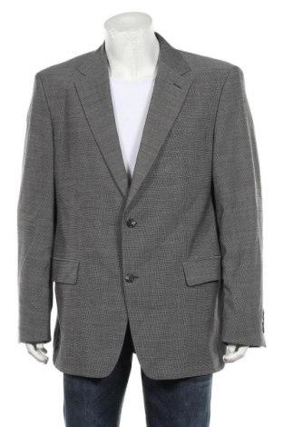 Мъжко сако Pierre Cardin, Размер XL, Цвят Сив, Вълна, Цена 22,44лв.