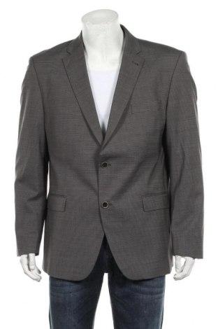 Мъжко сако Roy Robson, Размер XL, Цвят Сив, 98% вълна, 2% еластан, Цена 51,00лв.