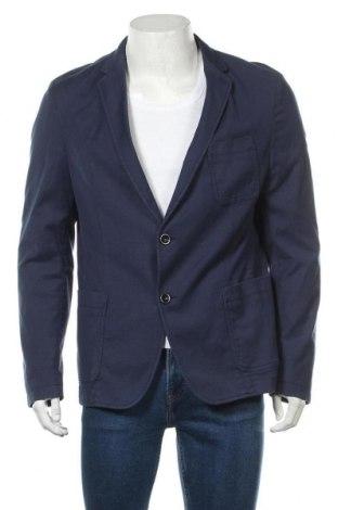 Мъжко сако Strellson, Размер L, Цвят Син, 97% памук, 3% еластан, Цена 115,67лв.