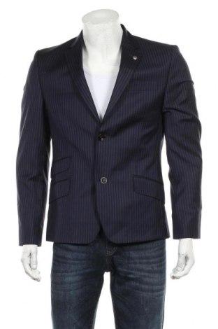 Мъжко сако Ted Baker, Размер L, Цвят Син, 99% вълна, 1% коприна, Цена 58,50лв.