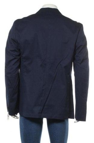 Мъжко сако Tom Tailor, Размер XL, Цвят Син, 98% памук, 2% еластан, Цена 47,70лв.