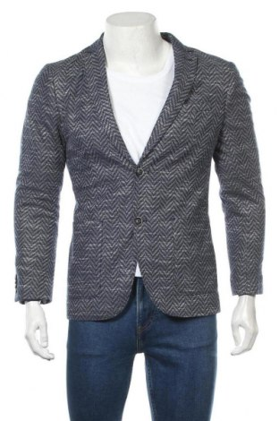 Мъжко сако Tom Tailor, Размер M, Цвят Син, 90% полиестер, 10% памук, Цена 68,37лв.