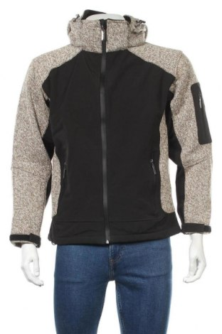 Мъжко спортно яке Bayside, Размер S, Цвят Черен, 89% полиестер, 11% вълна, Цена 59,54лв.