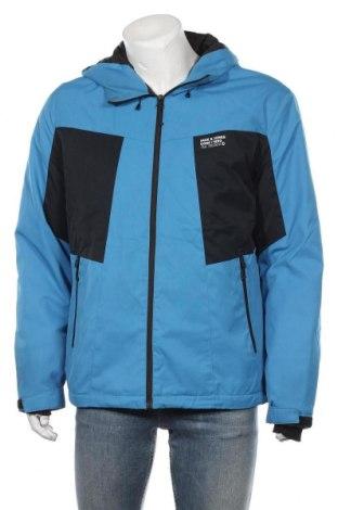 Мъжко спортно яке Core By Jack & Jones, Размер XL, Цвят Син, Полиестер, Цена 37,54лв.