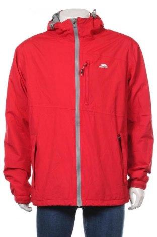 Мъжко спортно яке Trespass, Размер XL, Цвят Червен, Полиамид, Цена 91,50лв.