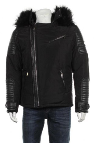 Мъжко яке, Размер XL, Цвят Черен, 100% полиестер, Цена 156,71лв.