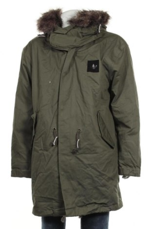 Мъжко яке Adidas Originals, Размер XL, Цвят Зелен, Полиестер, Цена 195,46лв.