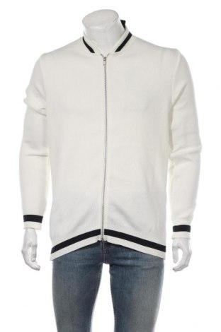 Мъжко яке Boohoo, Размер S, Цвят Бял, Полиестер, Цена 26,55лв.