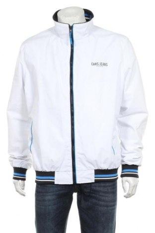 Мъжко яке Cars Jeans, Размер XL, Цвят Бял, Полиамид, Цена 57,00лв.